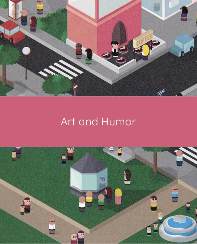 art and humor